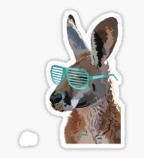 Sickest Kangaroo Sticker