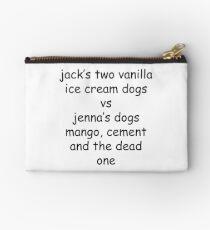 Jenna Marbles vs Jacksfilms Studio Pouch