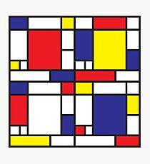 Mondrian Study I Photographic Print