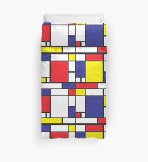 Mondrian Study I Duvet Cover