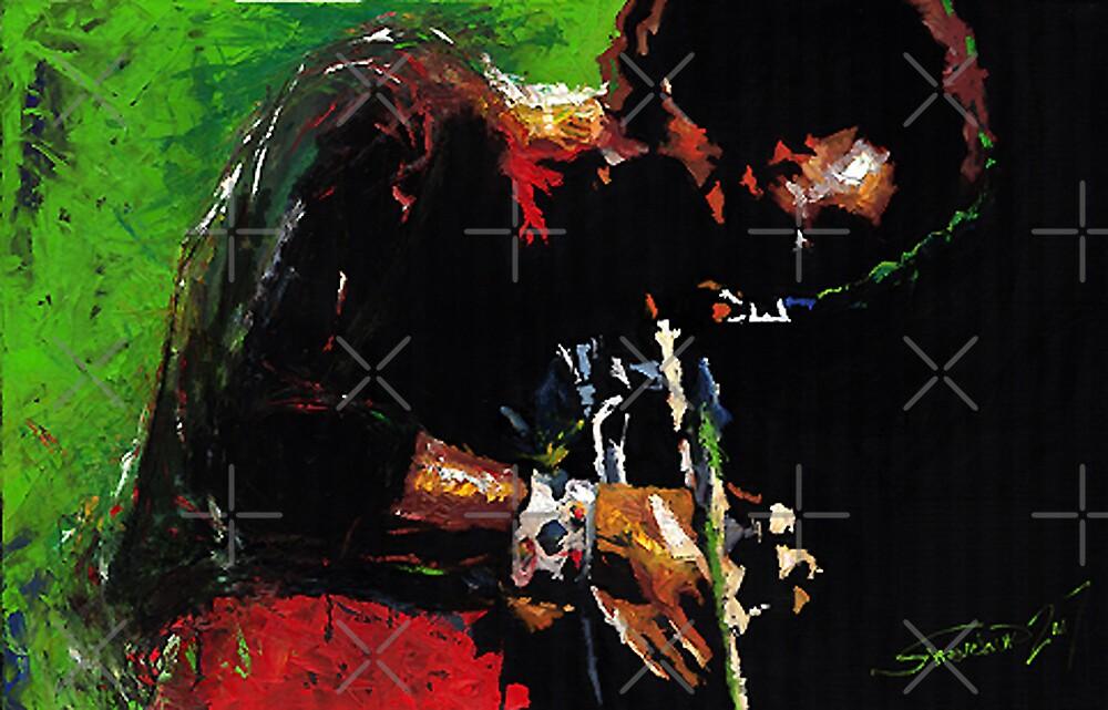 Jazz Miles Davis by Yuriy Shevchuk