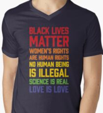 LGBT t shirts - Black Lives Matter Women's Rights Are Human T-Shirt