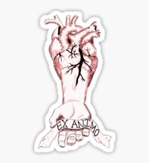 Ex Animo: From the heart. Sticker