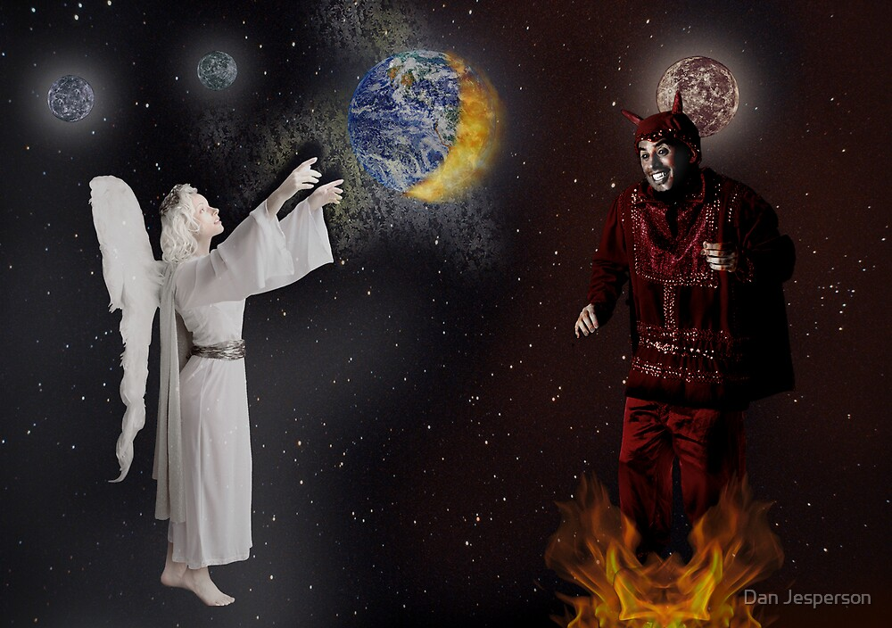 The Battle Between Good & Evil by Dan Jesperson