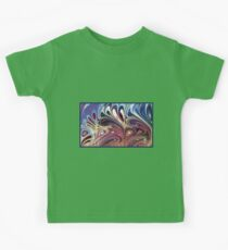 abstract splash design Kids Clothes