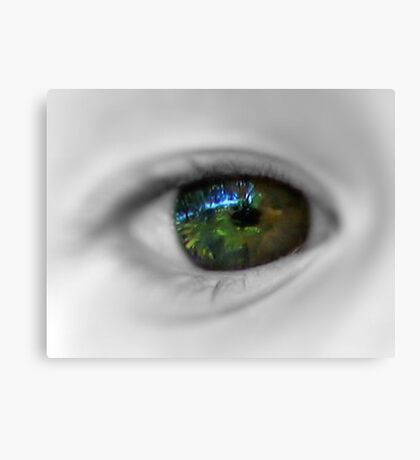 Reflection Of The Mind's Eye Canvas Print