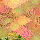 Pink Diagonal Series 01 by Krista Droop