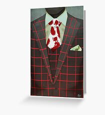 Sharply Dressed: Hannibal Greeting Card