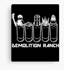 Demolition Ranch T-shirt Canvas Print