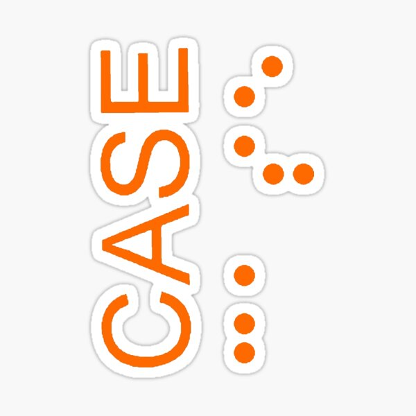 CASE Logo - Interstellar Sticker