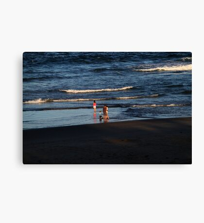 Late in the  Afternoon Canvas Print