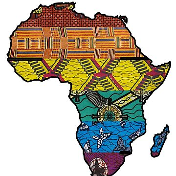 Black Pride - Africa Map by athaikdin