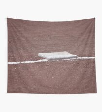 Baseball Base  Wall Tapestry