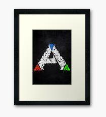 Ark Survival Evolved Colored Framed Print