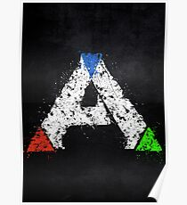 Ark Survival Evolved Colored Poster