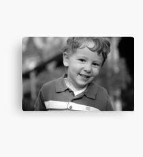 unposed kids photography Canvas Print