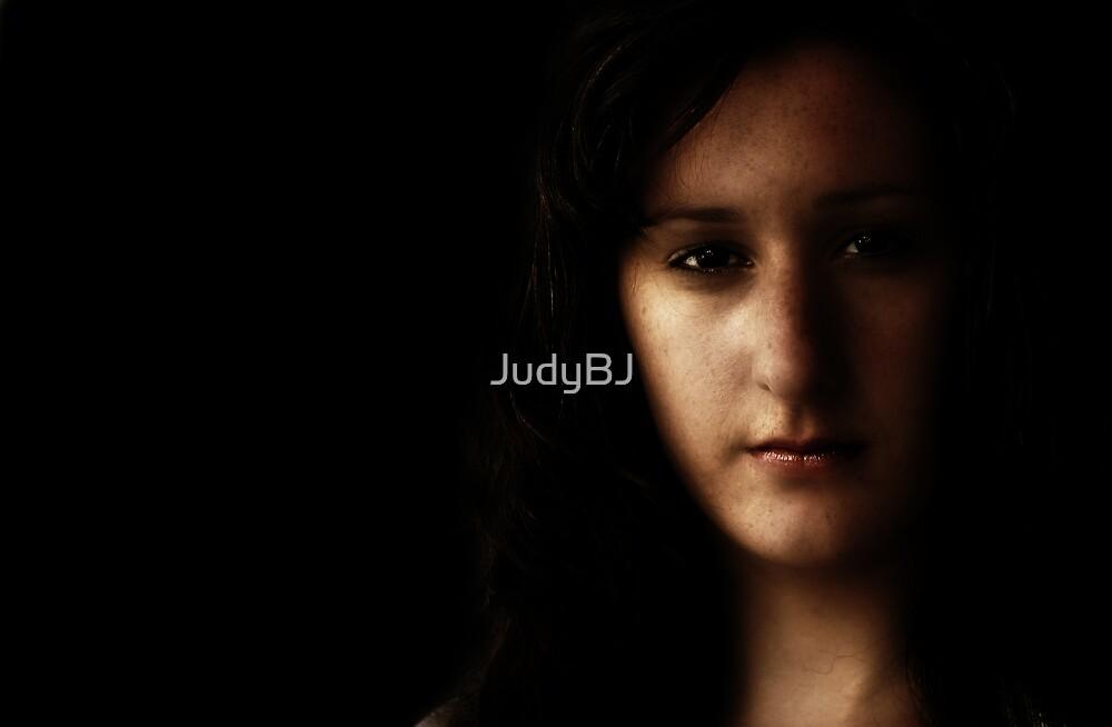 Portrait in old school style by JudyBJ