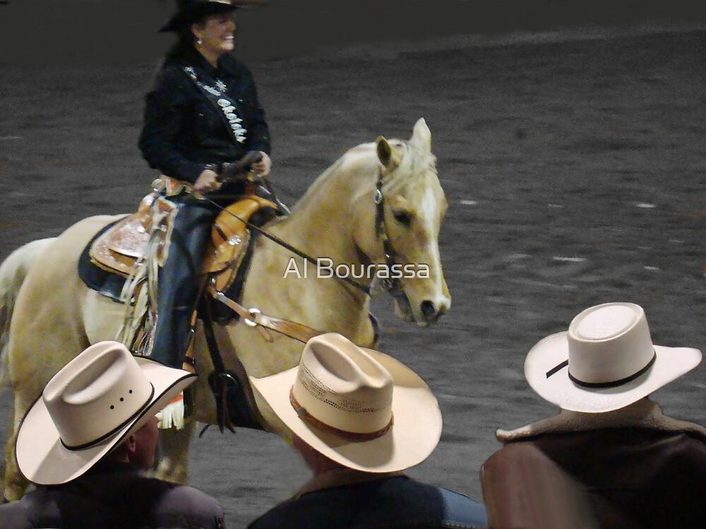 Rodeo Royalty II by Al Bourassa