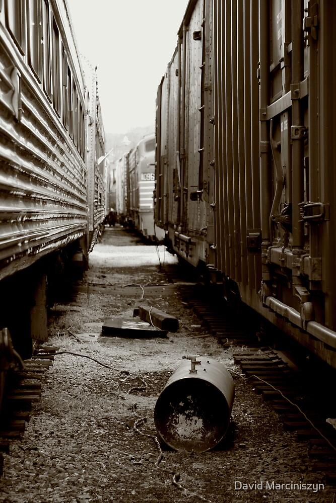 Between Two Trains by David Marciniszyn