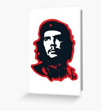 Che - Red Greeting Card