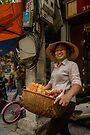 Donut Seller by Werner Padarin
