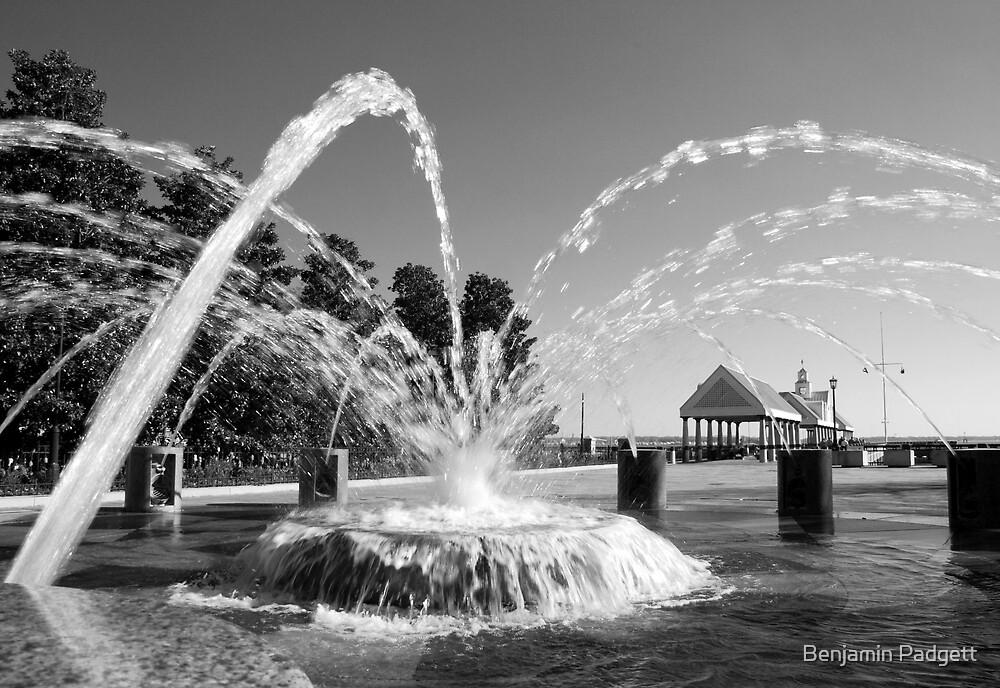 Waterfront Fountain #1, Charleston, SC by Benjamin Padgett