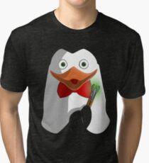 Doctor Penguin Tri-blend T-Shirt