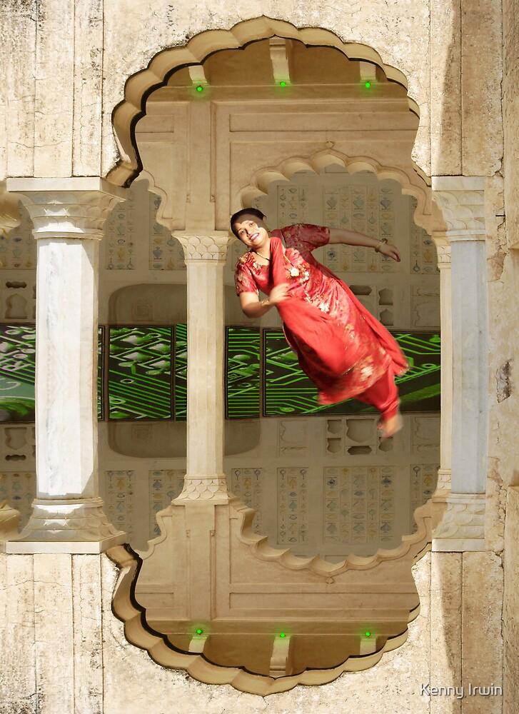 Zero Gravity Desi Dancing by Kenny Irwin