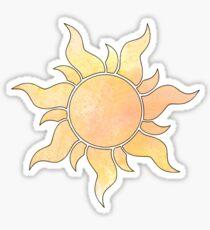 Verwirrte Sonne Sticker