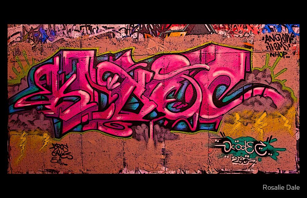 Graffiti #1 by Rosalie Dale