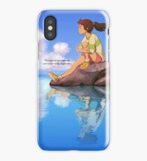 You Never Really Forget - Spirited Away - Studio Ghibli iPhone Case/Skin