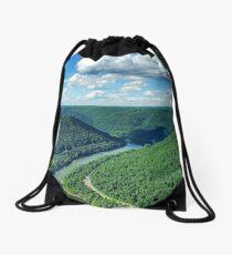 New River Gorge Drawstring Bag