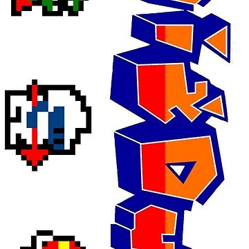 Dig Dug GALAXY PHONE CASES ONLY by 8BitClassics