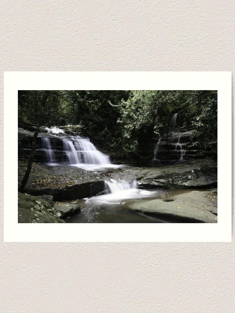 Alternate view of Serenity Falls Art Print
