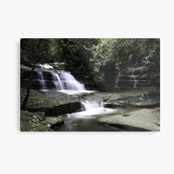 Serenity Falls Metal Print