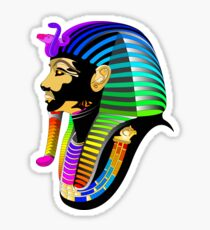 Psyched Pharaoh Sticker