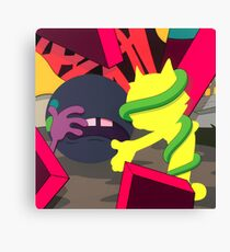 KAWS - Presenting the Past Canvas Print