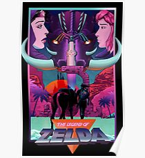 Retro Legend Poster