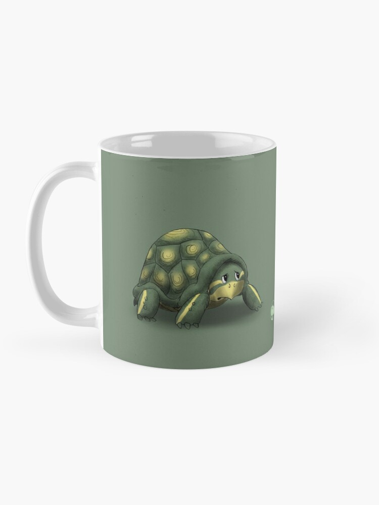 Alternate view of Two Moods of Turtle Mug