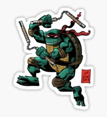 Michelangelo is a Party Dude! Sticker
