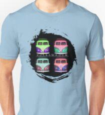 Pop Kombi Splat VW T-shirt Unisex T-Shirt