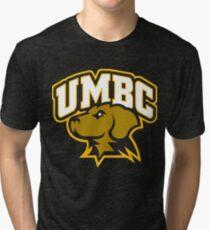UMBC softball Tri-blend T-Shirt