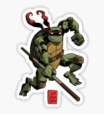 Donatello Does Machines! Sticker