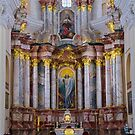 Altar of the Church of St. Casimir by Lucinda Walter