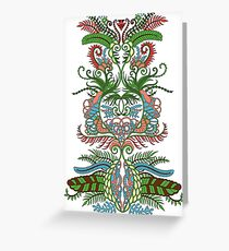 Pattern Greeting Card
