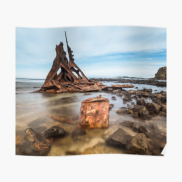 Shipwreck of the S.S. Speke Poster