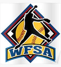 wfsa softball Poster