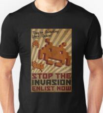 Invading Your Space Propaganda Poster Unisex T-Shirt