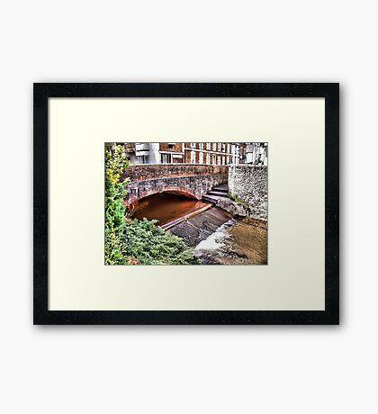 Bridge Over The river Daw Framed Print