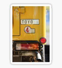1978 Toyota Land Cruiser FJ40 Taillight Emblem -1191c Sticker